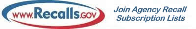recallsdotgov subscription banner